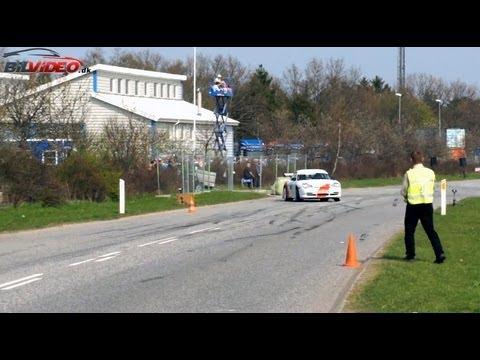 Escobar Porsche 911 GT3 Viking Rally Sprint 21 April 2011 Frederikssund ⟹Fantastic sound⟸