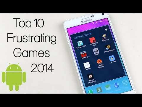 Top 10 Frustrating / Addictive Android Games 2014