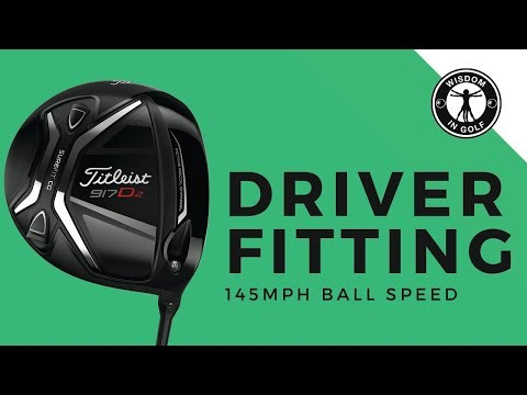 Driver Fitting 145MPH Ball Speed Player | TXG
