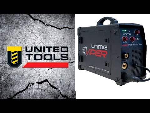 Uni-Mig Viper 182 Inverter Welder - Gas & Gasless MIG + MMA (Arc)