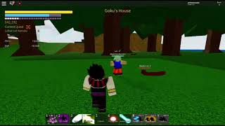 Jogando Dragon Ball Z no roblox part WVD Gamer