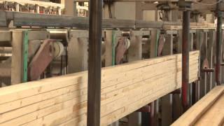 Konsbud - Huttemann proces produkcji elementów konstrukcyjnych z drewna klejonego