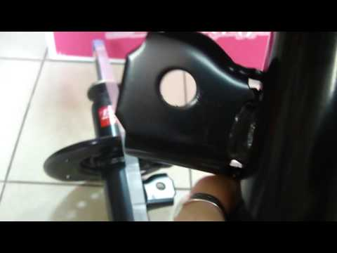 Передние стойки KYB Excel G на Nissan X TRAIL T31