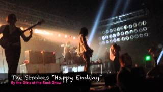 The Strokes performing Happy Ending at the Chelsea at the Cosmopoli...