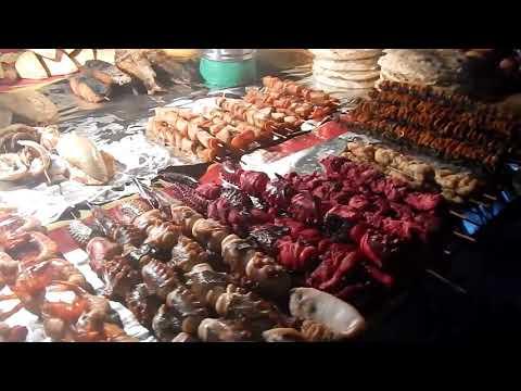 Street food and sea food you should try in Zanzibar Forodhani garden 2018