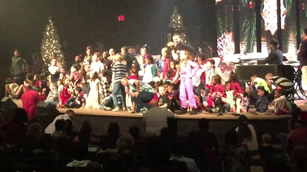 Christmas Eve at Grace Church in Humble