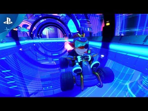 Crash Team Racing Nitro-Fueled – Electron Skins Reveal Trailer   PS4