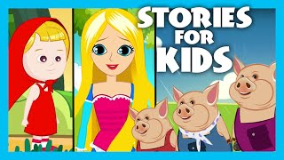 Stories for KIDS | Rapunzel - Little Red Riding Hood - Three Little Pigs