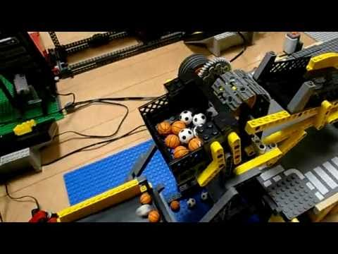construction en lego impressionnante youtube. Black Bedroom Furniture Sets. Home Design Ideas