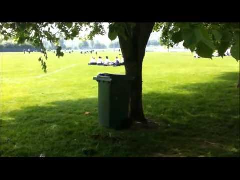 Bin Jumping at the Westlands School