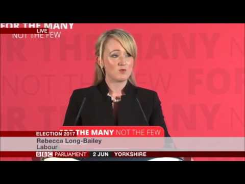 Rebecca Long-Bailey explains their Industrial strategy