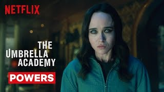 Umbrella Academy Powers | The Umbrella Academy | Netflix