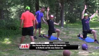 Ski Alpin: Hitziges Sommertraining in St. Moritz