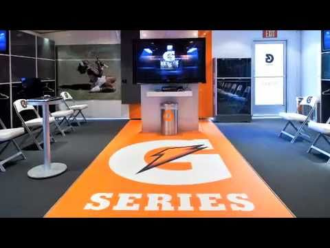 Gatorade G-Series Mobile Locker Room
