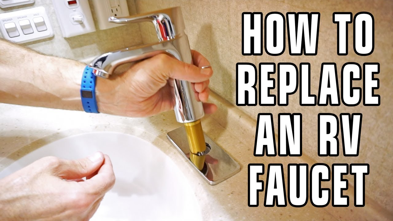 How to Replace an RV Bathroom Faucet - YouTube