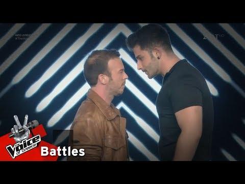 Γιώργος Αστρίτης vs Θάνος Λειβαδίτης – Τάσεις καταστροφής   3o Battle   The Voice of Greece