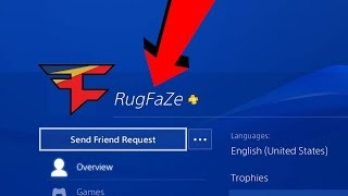 Looking at FAMOUS YOUTUBERS PS4 PROFILES (FAZE MEMBERS)