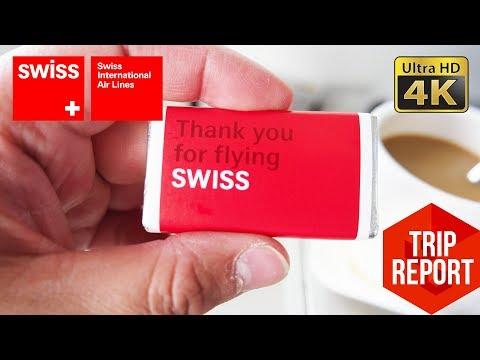 Trip Report (4K) - Swiss LX1487 Business Class PRG - ZRH