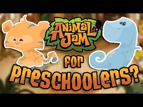 AJ WAS FOR PRESCHOOLERS? || Animal Jam History || Chapter 1