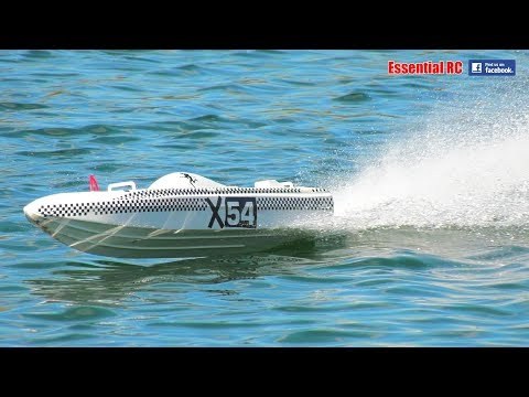 X-54 ELECTRIC Offshore RC Power Boat (HIGH SPEED ENDURANCE RACING)