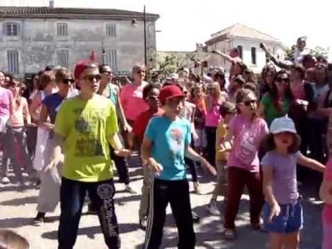 flash mob isle sur la sorgue