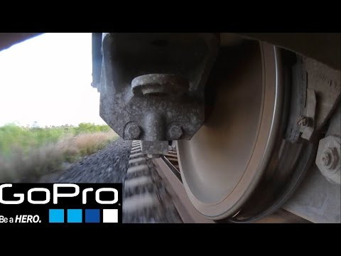 GoPro train wheel view!!!