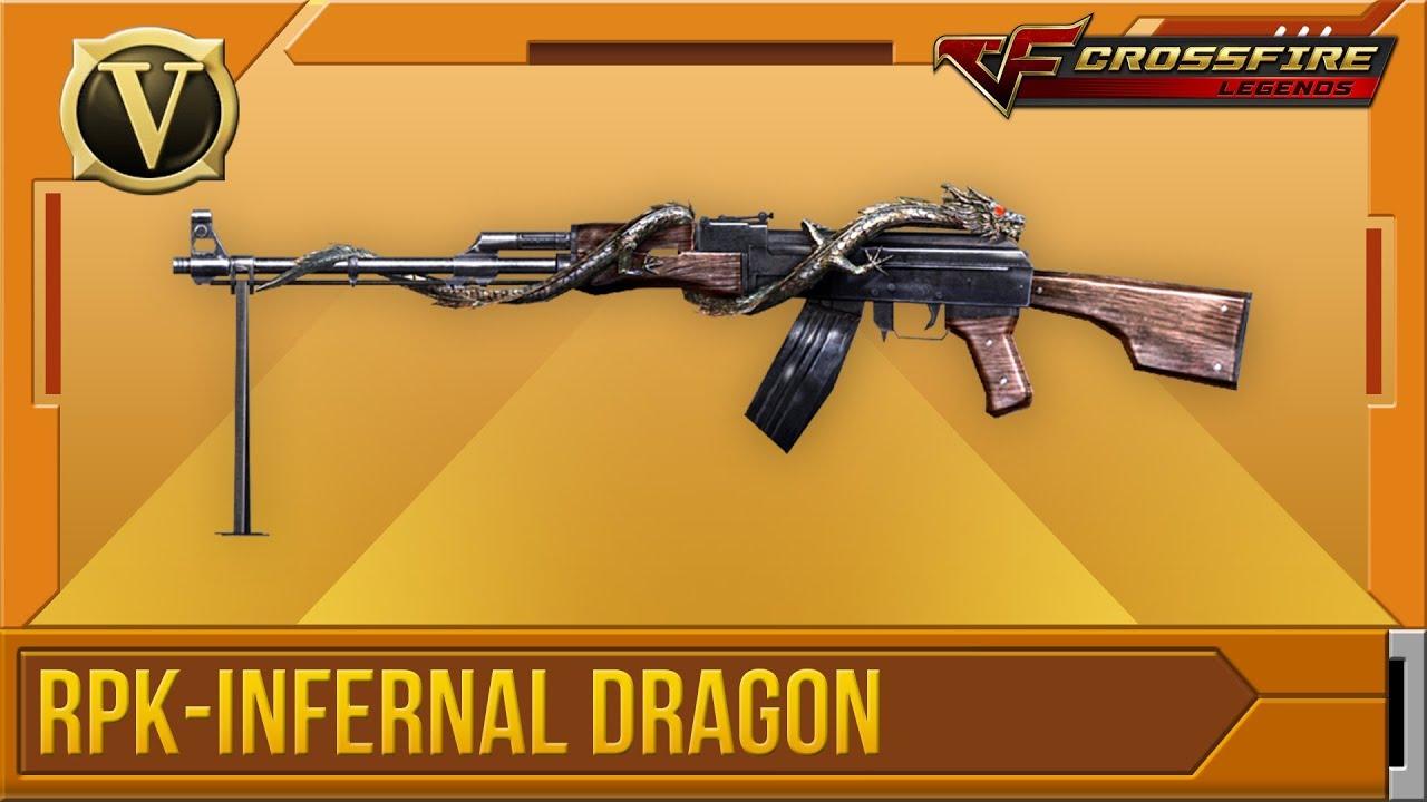 Wikia Crossfirelegends: Tổng Quan RPK-Infernal Dragon (VIP