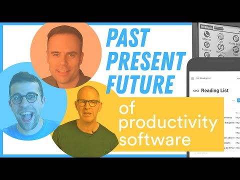 Productivity App Nerds Discuss Their Past Tools (PART 1)