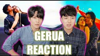 Gerua Reaction by Korean Dost | Shah Rukh Khan | Kajol | Dilwale