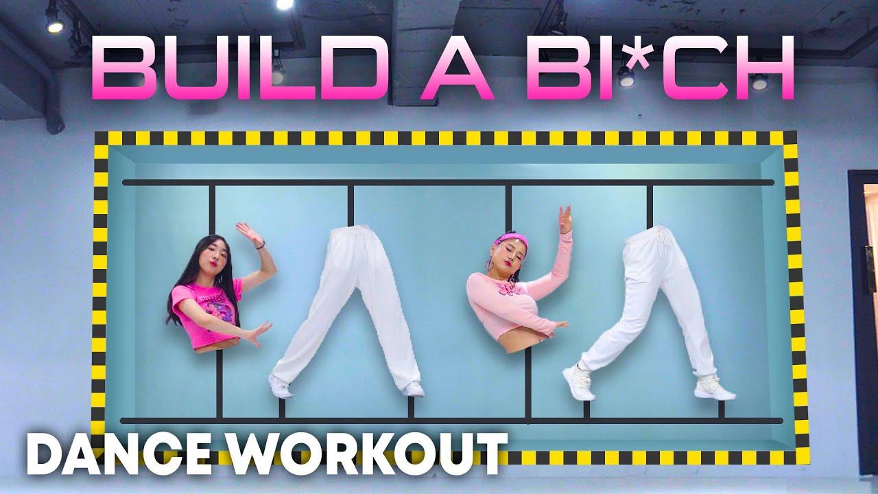 [Dance Workout] Bella Poarch - Build a B*tch | MYLEE Cardio Dance Workout | Build a Bitch Dance