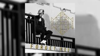 alex mattson forget you cover art