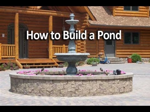 How to build an raised pond youtube Raised ponds for sale