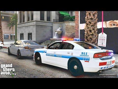 GTA 5 MODS LSPDFR 775 - CHARGER PATROL !!! (GTA 5 REAL LIFE PC MOD)