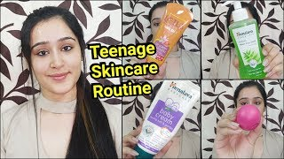 Skincare Routine for TEENAGERS - Remove Pimples and get Glowing clear skin