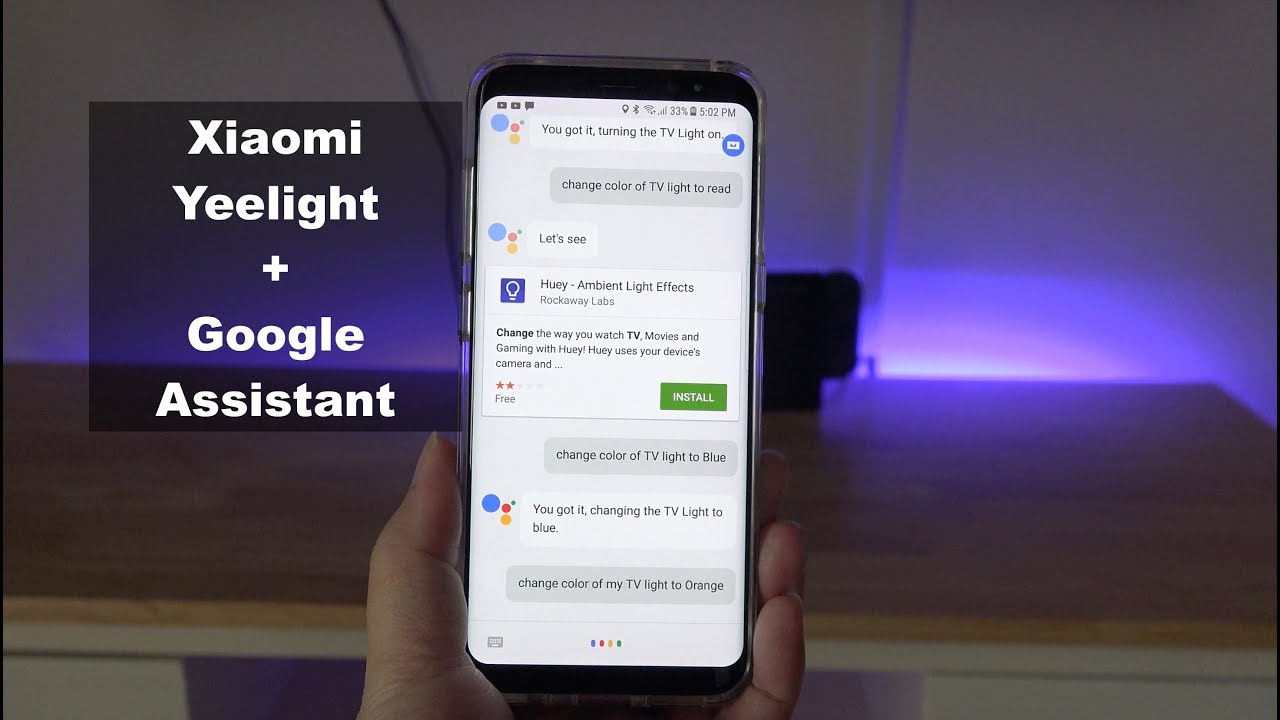 How to Set Up and Control Xiaomi Lights Using Google Home / Assistant