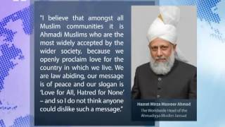 Sydney, Australia: World Muslim Leader (Khalifa of Islam) interviewed by Australian Press