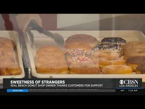 Seal Beach Donut Shop Owner Thanks Customers