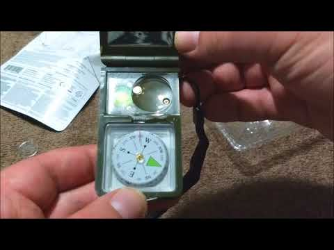 Kikkerland mini outdoor survival kit unboxing