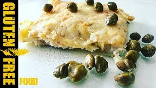 Baked capers fish pie - gluten free recipe