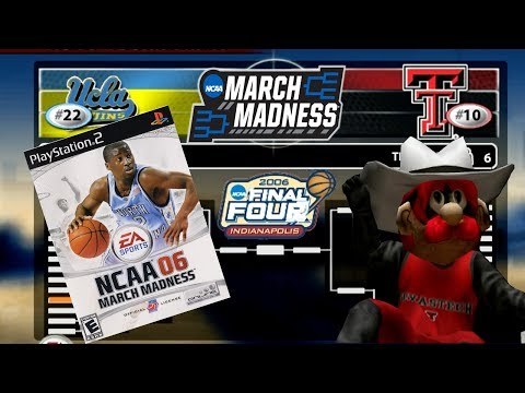 NCAA March Madness Basketball 2006 in 2018 in Super HD! Selection Sunday 2018 Texas Tech vs. UCLA