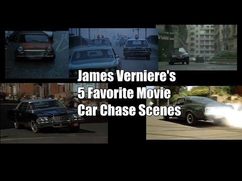 James Verniere's 5 Favorite Movie Car Chase Scenes & Stunts
