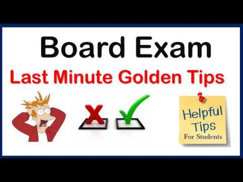 Golden tips for board exam   board exam   how to attempt board paper   do or dont