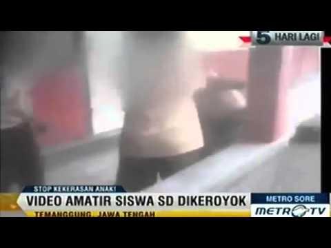 HEBOH[ Video Kekerasan Anak SD di Temanggung 15 oktober 2014