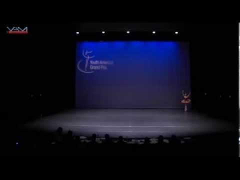 YAGP 2014 Maria Bodea performing Gamzatti from La Bayadere, music Minkus, choreography Petipa