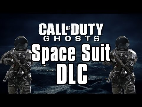 Call of Duty Ghosts THE SPLASHES Astronaut DLC
