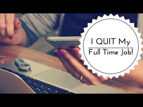 How I Quit My Full Time Job to go Freelance - Vlog #012