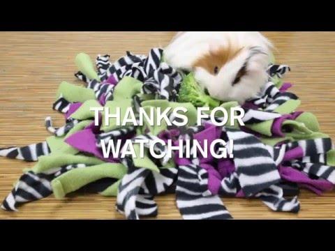 Diy Snuffle Mat Youtube