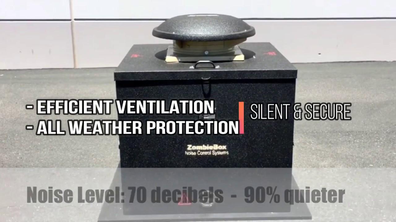 Generator Enclosures | Soundproof Generator Sheds