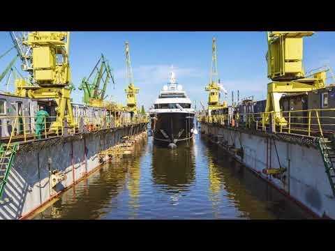 Conrad C133 Superyacht M/Y Viatoris Launching