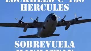 Video Un avión C-130 Hercules sobrevuela New York download MP3, 3GP, MP4, WEBM, AVI, FLV Juni 2018